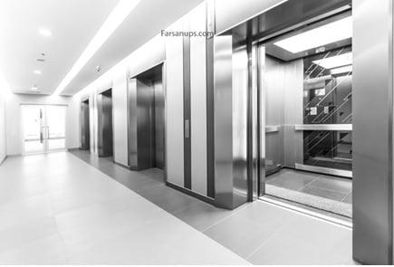 یو پی اس مناسب آسانسور