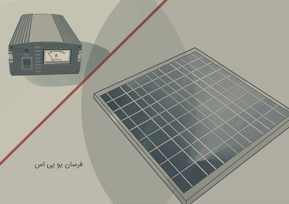 یو پی اس خورشیدی